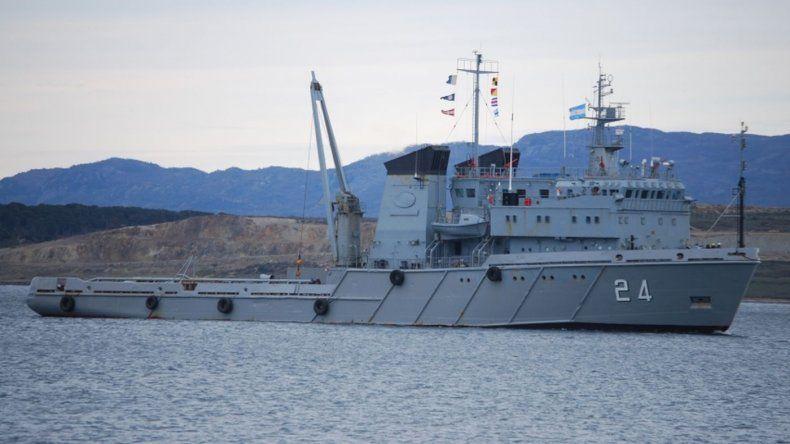 Hoy llega el ARA Islas Malvinas al puerto de Comodoro Rivadavia