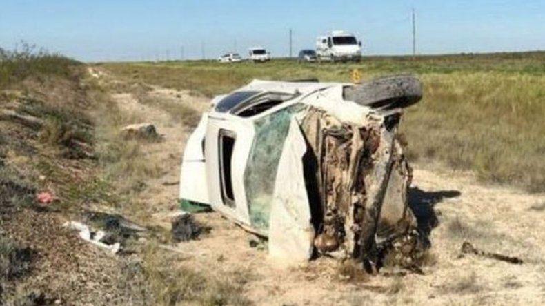 Accidente fatal sobre Ruta 2 entre Pirámides y Madryn