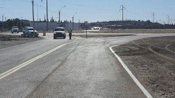 Reinauguraron obras en el acceso a la rotonda de Km 5