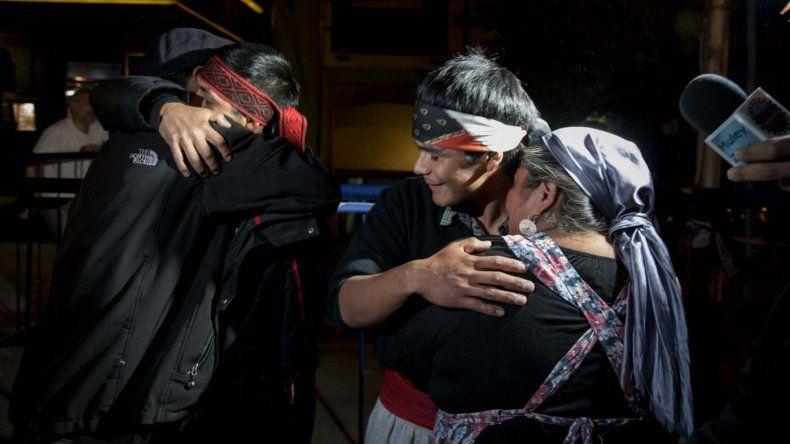 Liberaron a los dos mapuches detenidos en Bariloche