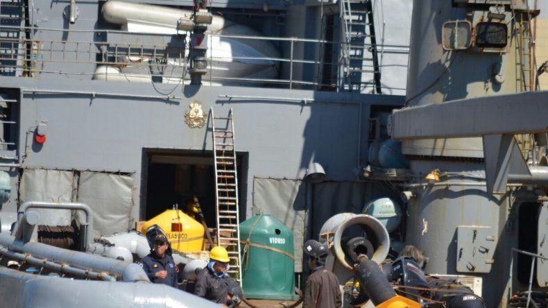 El puerto de Comodoro en el centro de un operativo internacional sin precedentes