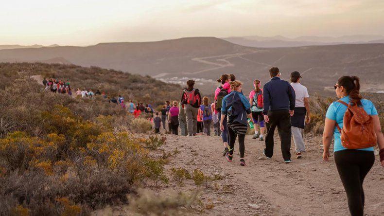 En el último trekking del año