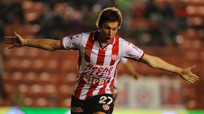 Franco Soldano será uno de los delanteros esta tarde en el ataque de Unión de Santa Fe.