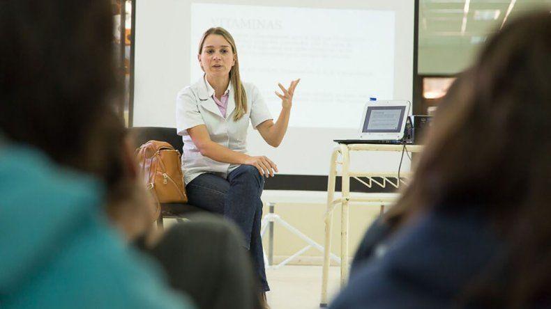Promueven conductas de alimentación  saludable en las escuelas de Rada Tilly