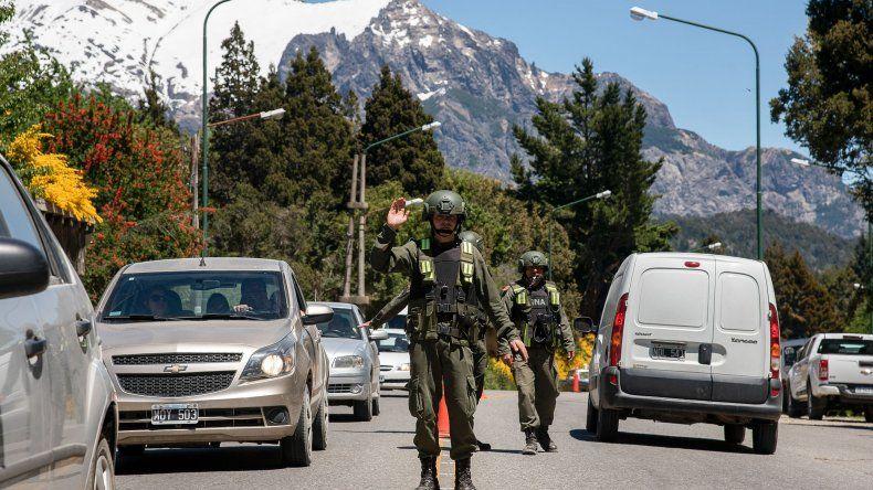 San Carlos de Bariloche fuertemente militarizada por la realización de la cumbre de ministros del G-20.