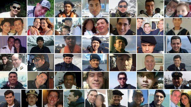 Las historias de los 44 tripulantes del ARA San Juan