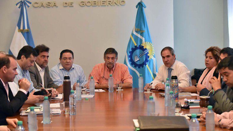 Mammarelli presidió reunión de gabinete