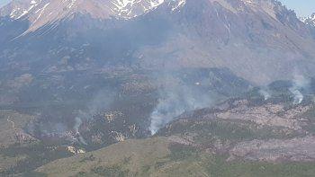 el incendio en corcovado ya afecto mas de 150 hectareas