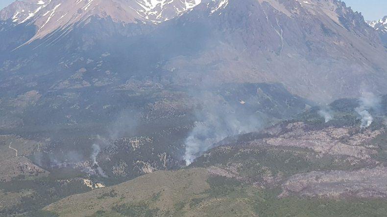 El incendio en Corcovado ya afectó más de 150 hectáreas