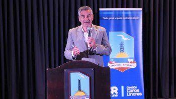 En el Centro Cultural, el secretario de la Servicios a la Comunidad , Rubén Palomeque, brindó un informe sobre las tareas realizadas durante el temporal.