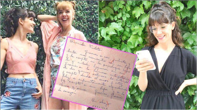 El mensaje que recibió Violeta Urtizberea: gracias a ustedes acepté a mi hija y a la chica que ama
