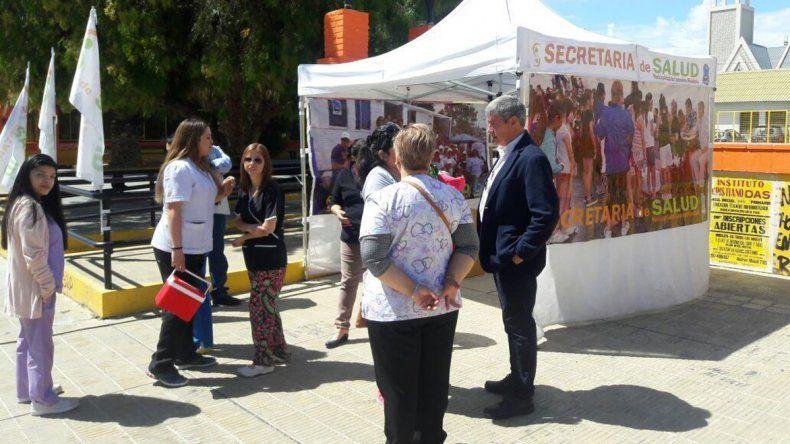 En la plaza de Escuela 83 se realizaron 360 análisis de VIH