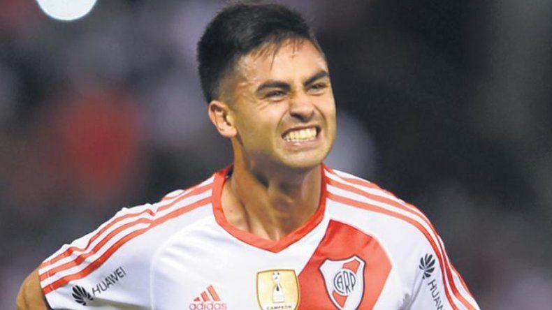 Gonzalo Martínez entrenó de manera diferenciada durante la semana.