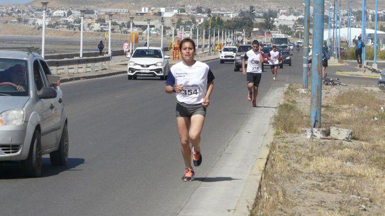 Daiana Llanquín fue la ganadora en Damas.