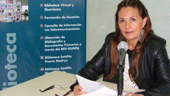 Angelina Covalschi, organizadora del encuentro regional.