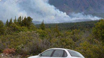 el incendio en corcovado ya afecto mas de 250 hectareas