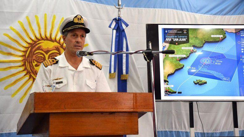 Se descartó un ataque externo contra el ARA San Juan