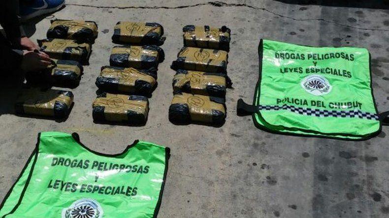Secuestraron 14 kilos de cocaína y hay siete detenidos