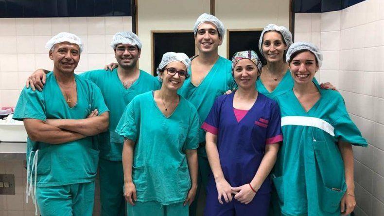 Un equipo de Sanatorio La Española