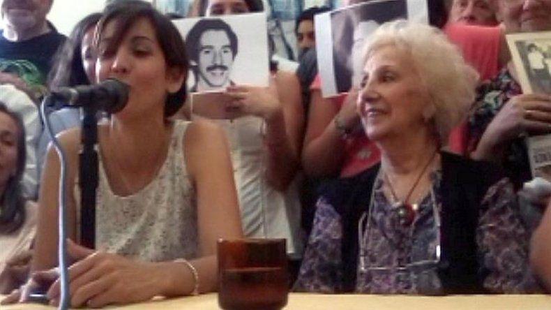 El amor le ganó al odio, dijo la nieta recuperada 126