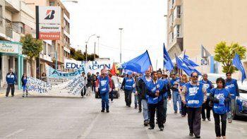 la mesa de unidad sindical de chubut convoca a marchar en contra del ajuste