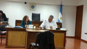 La fiscal Laura Castagno y el defensor Tomás Malerba acordaron condenar a Edgardo Waters a 3 años de prisión condicional.