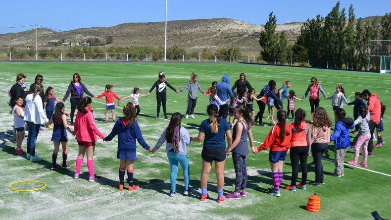 En instalaciones del Coirón se llevó a cabo el cierre anual para las categorías formativas de Comodoro Rugby Club.