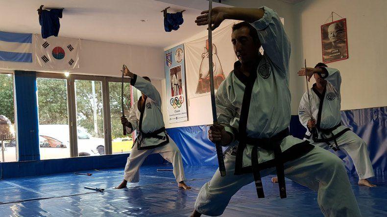 La escuela Tang Soo Do local sumó su cuarta promoción de cinturones.