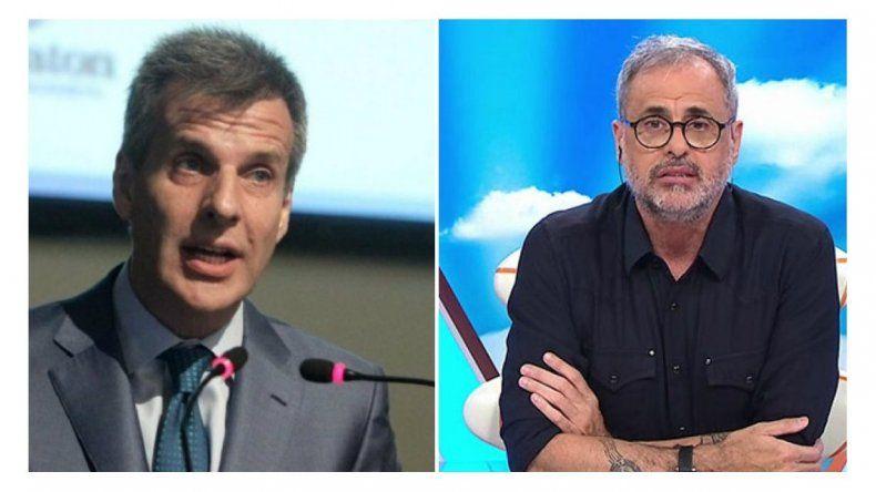 Martín Redrado dijo que no es el padre de Matilda y Jorge Rial lo liquidó