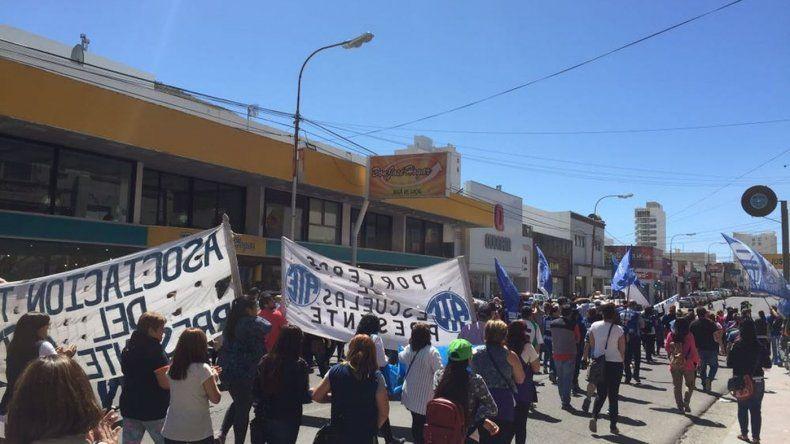 Otro paro y movilización en Comodoro Rivadavia contra la reforma laboral