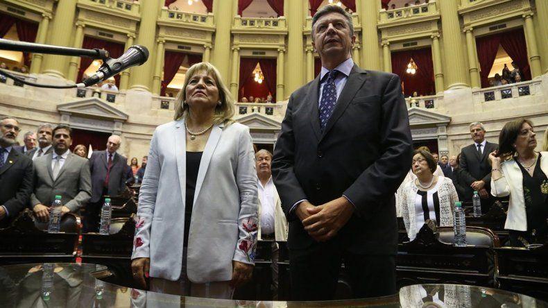 Muñoz y Menna juraron como diputados