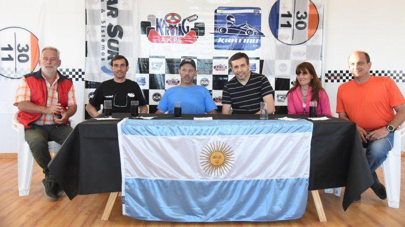 Ayer se presentó la fecha doble del Argentino correspondiente al GP Coronación.