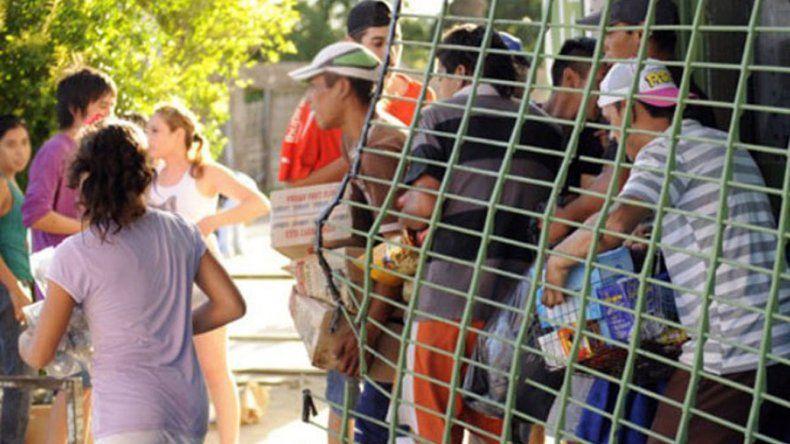 Temen que en Comodoro se registren saqueos como los ocurridos en los últimos años en ciudades como Bariloche y Córdoba.