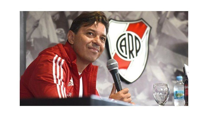 Marcelo Gallardo admitió que River no pasa por su mejor momento.