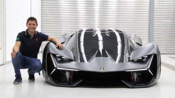Facundo Elías es el argentino que lideró el diseño del Terzo Millennio, el nuevo modelo de Lamborghini.
