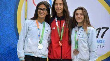 medallas chubutenses en los juegos sudamericanos escolares de bolivia