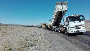 vialidad provincial continua  la pavimentacion de la ruta 9