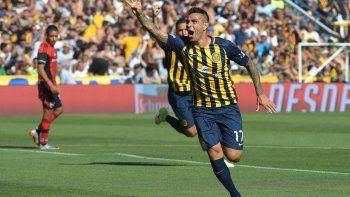 Un solo grito hubo en Rosario y fue el de Germán Herrera en el amanecer del partido.