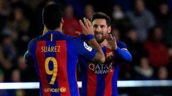 Messi y Suárez, la dupla del Barcelona que apuesta a la Champions.