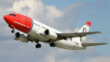 la low cost norwegian air volara a comodoro rivadavia