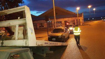 Secuestraron tres vehículos por alcoholemias positivas