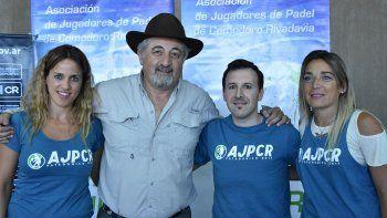 El certamen fue presentado en el TyPAC por referentes de la AJPCR y el titular de Comodoro Deportes, Othar Macharashvili.