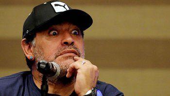 Diego Maradona volvió a ventilar polémica.
