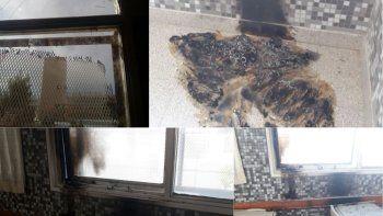 incendiaron cortinas y danaron aulas en la escuela 221
