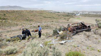 Un hombre fue encontrado desmembrado y quemado en un descampado de la zona sur de Comodoro Rivadavia.