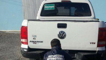 Secuestraron una camioneta por estafa automotor