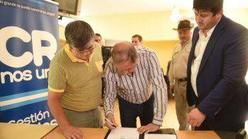 El municipio efectuó un aporte al Centro de Jubilados y Pensionados del Petróleo
