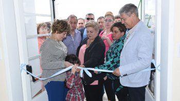 Además de Km 14, el policlínico inaugurado ayer atenderá a habitantes de Km 12 y Km 17.