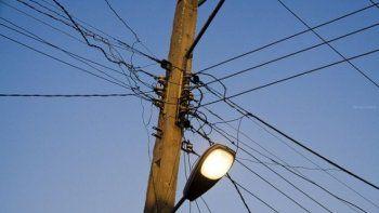 Cortarán la luz en ocho barrios de Comodoro
