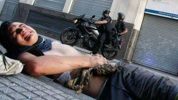 Habló el cartonero atropellado por  un policía motorizado